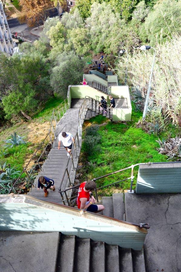 La scala di Jacob: Perth, Australia occidentale immagini stock libere da diritti