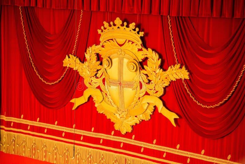 La Scala in Mailand stockfoto