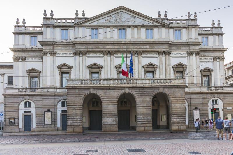La Scala Milano stock images