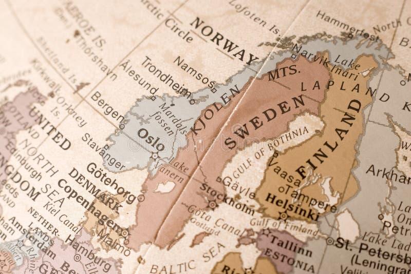La Scandinavie photo stock