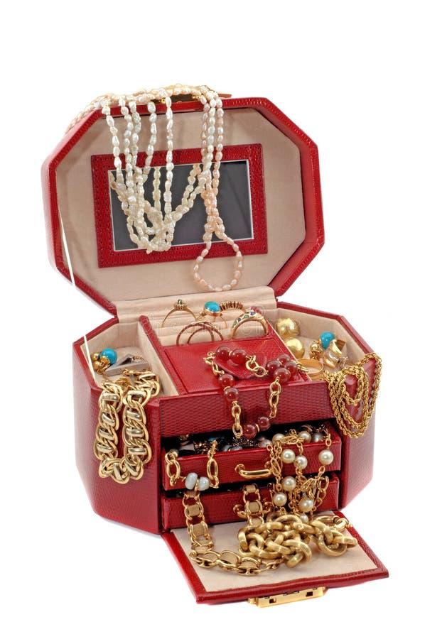 La scatola di tesoro immagini stock libere da diritti