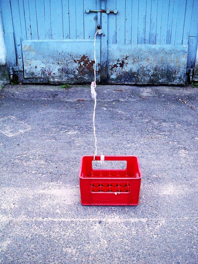 La scatola rossa fotografia stock libera da diritti