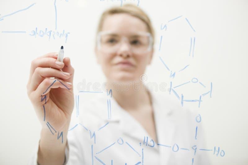La Science au travail photographie stock