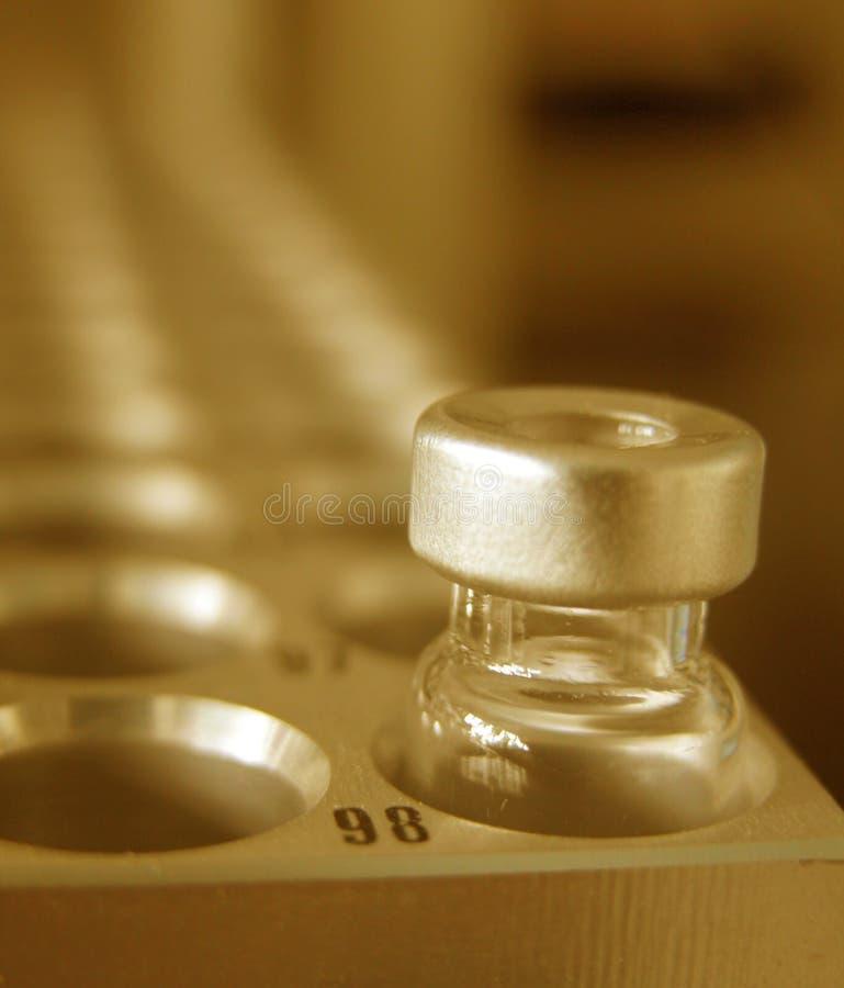 La Science - dernière mesure photographie stock