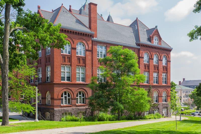 La Science Hall à l'université de Wisconsin-Madison image libre de droits