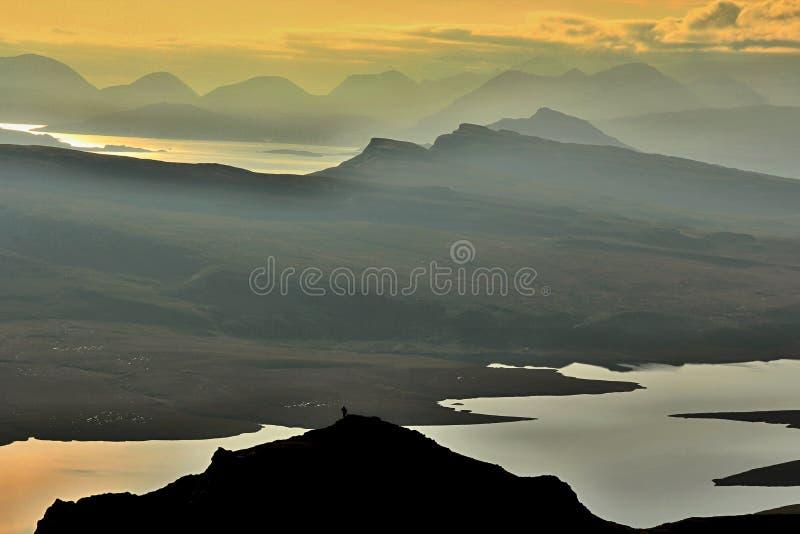 La Scozia immagini stock