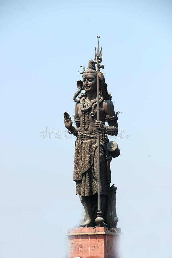 La sculpture de Lord Shiva photographie stock libre de droits