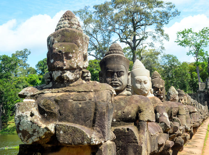 La sculpture des dieux images libres de droits