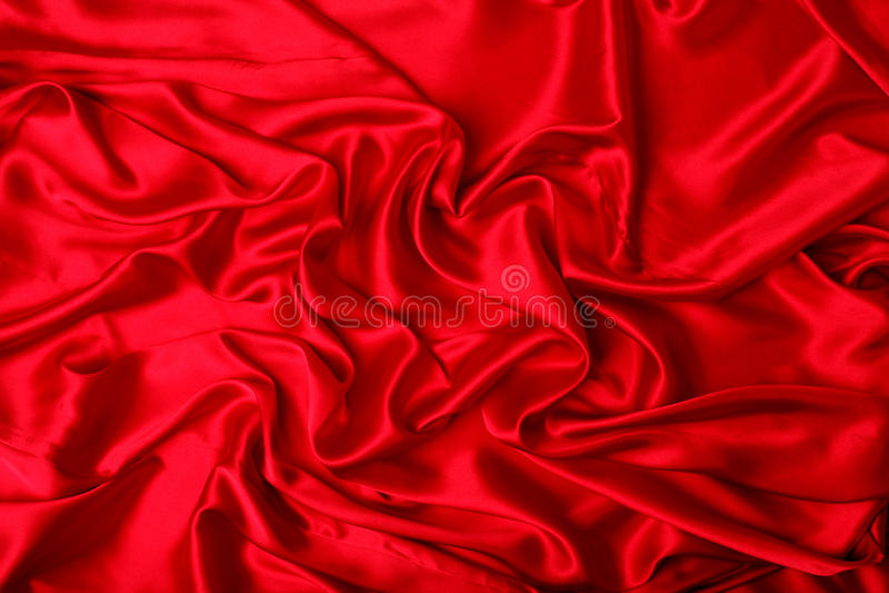 La seda roja elegante lisa puede utilizar como fondo fotografía de archivo