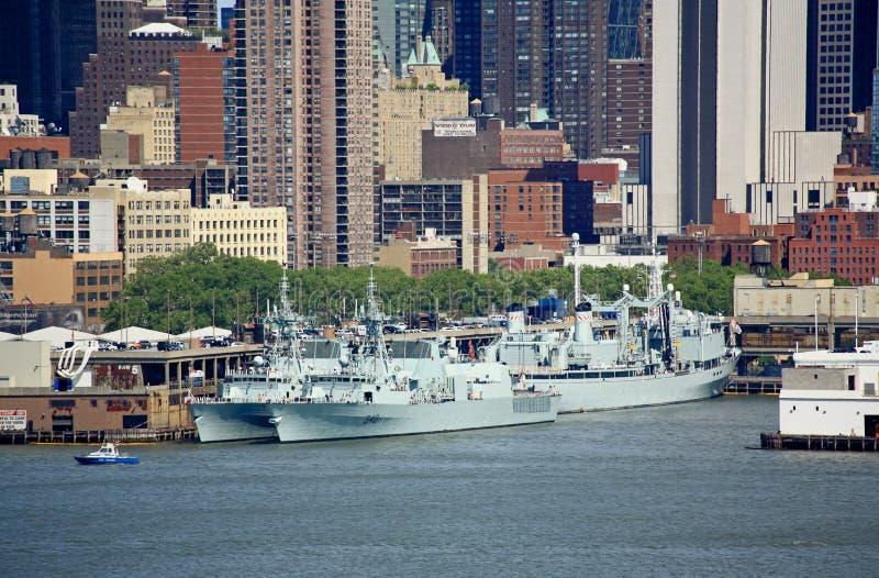 La semaine New York 2008 de flotte photo libre de droits