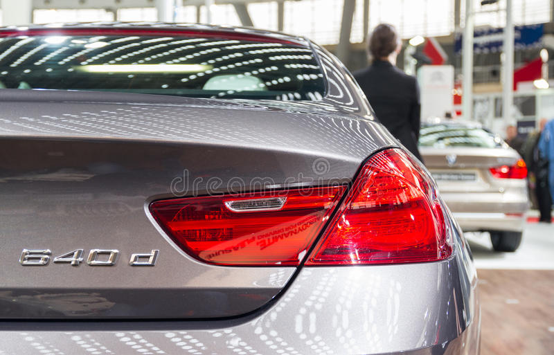 BMW 640d photographie stock libre de droits