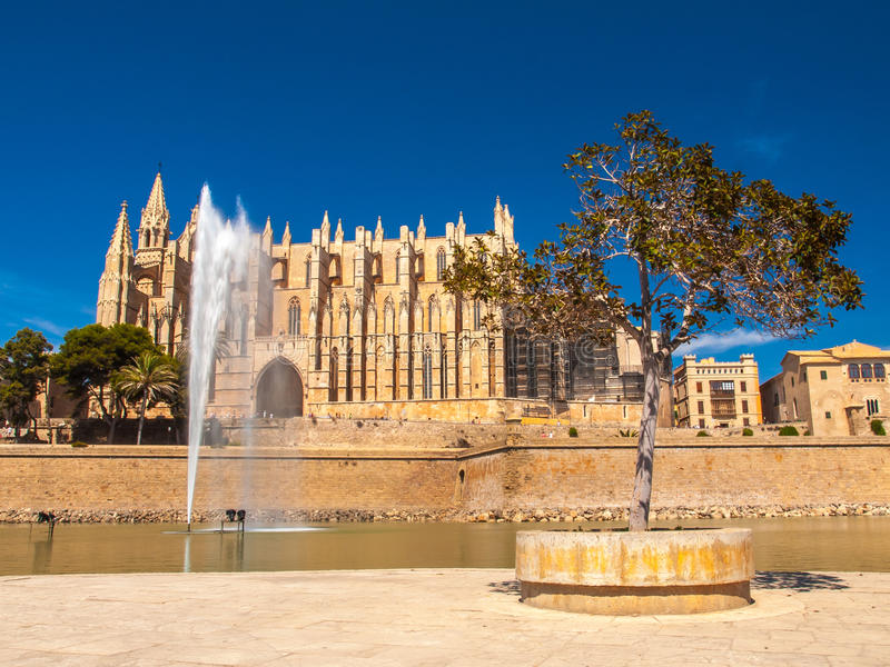 La Seu Cathedral, Palma de Mallorca imágenes de archivo libres de regalías
