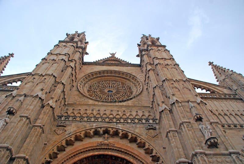 La Seu of Mallorca stock photo