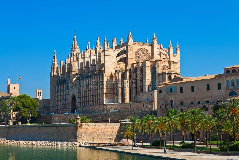 La Seu Palma de Mallorca fotografía de archivo libre de regalías
