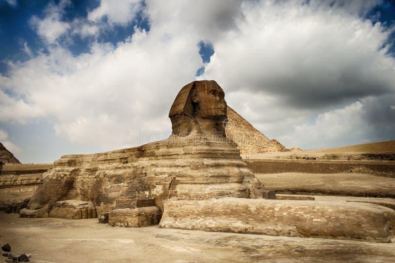 La Sfinge nell'Egitto immagine stock libera da diritti