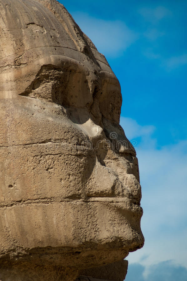 La sfinge nell'Egitto fotografia stock libera da diritti