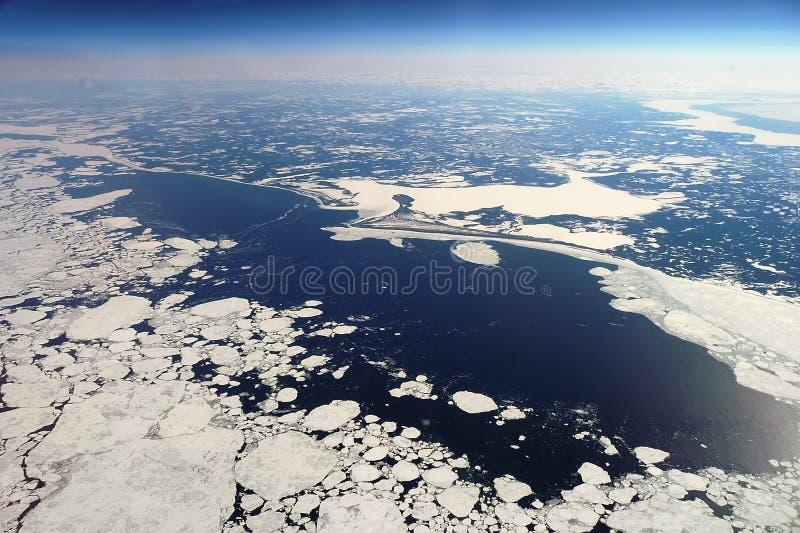 La Siberia a 10km fotografia stock