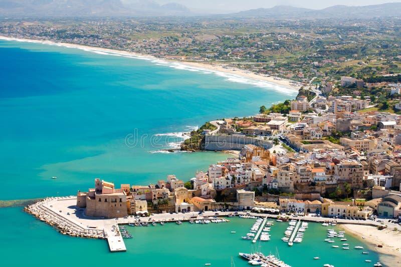 La Sicilia immagini stock