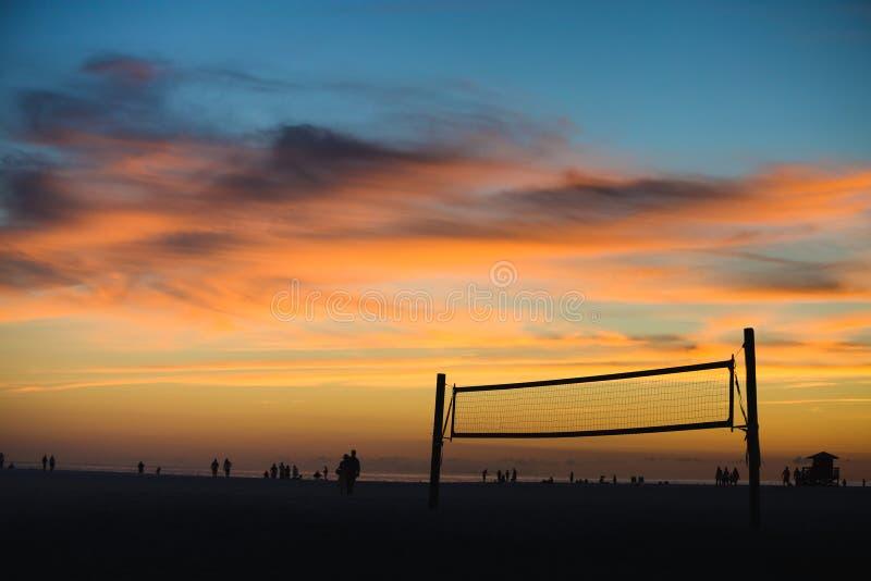 La siesta chiude a chiave la spiaggia immagini stock libere da diritti