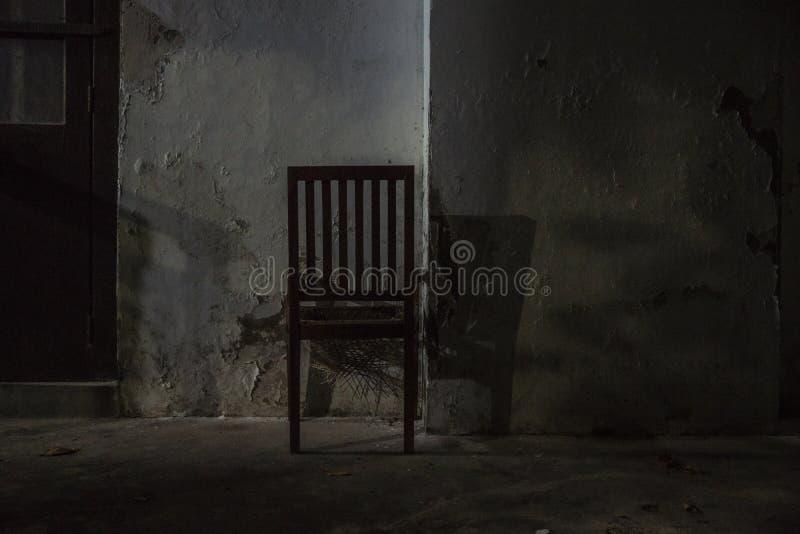 La silla de la corte fotografía de archivo libre de regalías