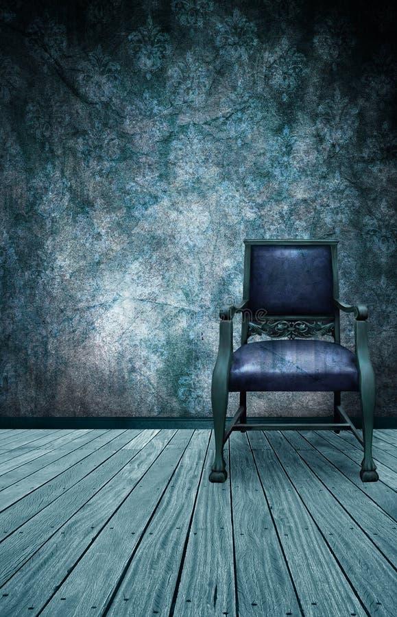 La silla fría stock de ilustración