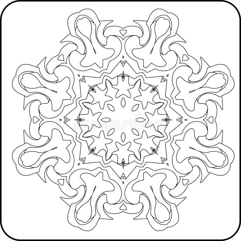 La simetría curva el modelo libre illustration