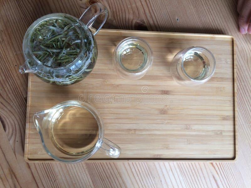 La simplicité d'un thé vietnamien images stock