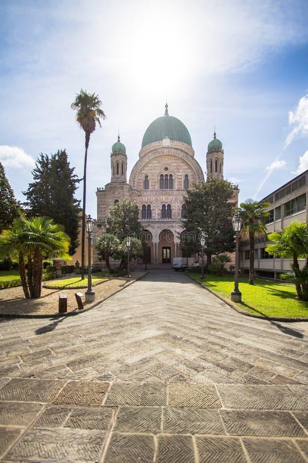 La sinagoga de Florencia, Italia fotos de archivo libres de regalías