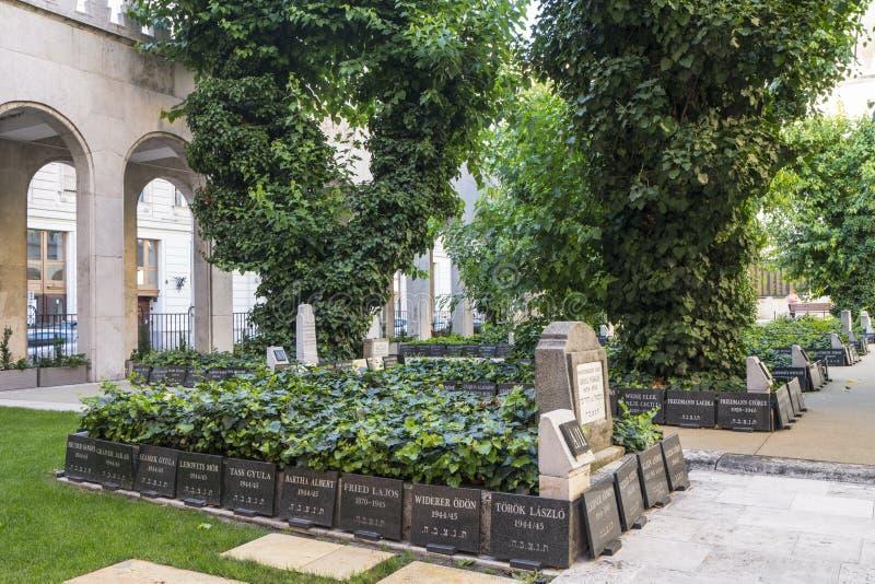 La sinagoga en Budapest fotografía de archivo libre de regalías