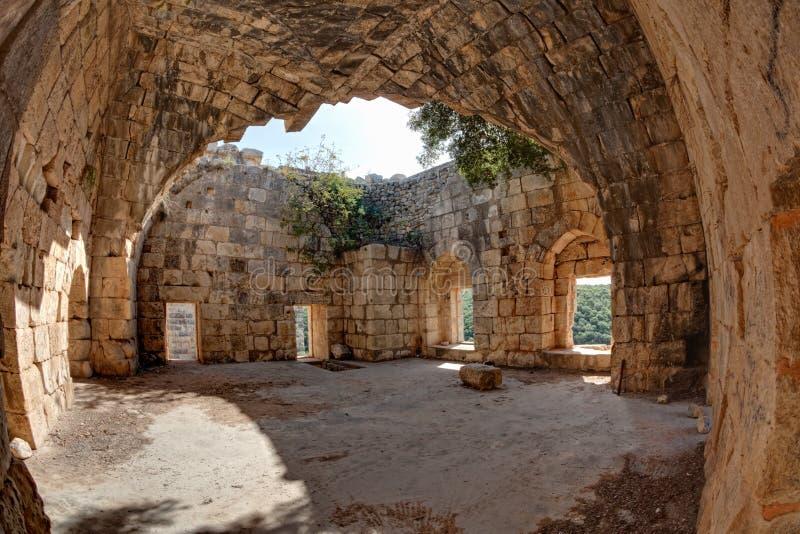 La Siria - castello di Saladin (baccano dell'annuncio di Qala'at Salah) fotografie stock