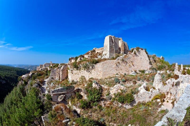 La Siria - castello di Saladin (baccano dell'annuncio di Qala'at Salah) immagine stock
