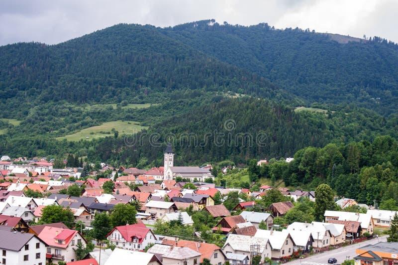 La Slovacchia - Terchova - vista fotografia stock