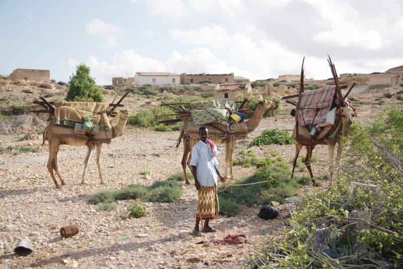 La Somalia è un paese dei pirati fotografia stock