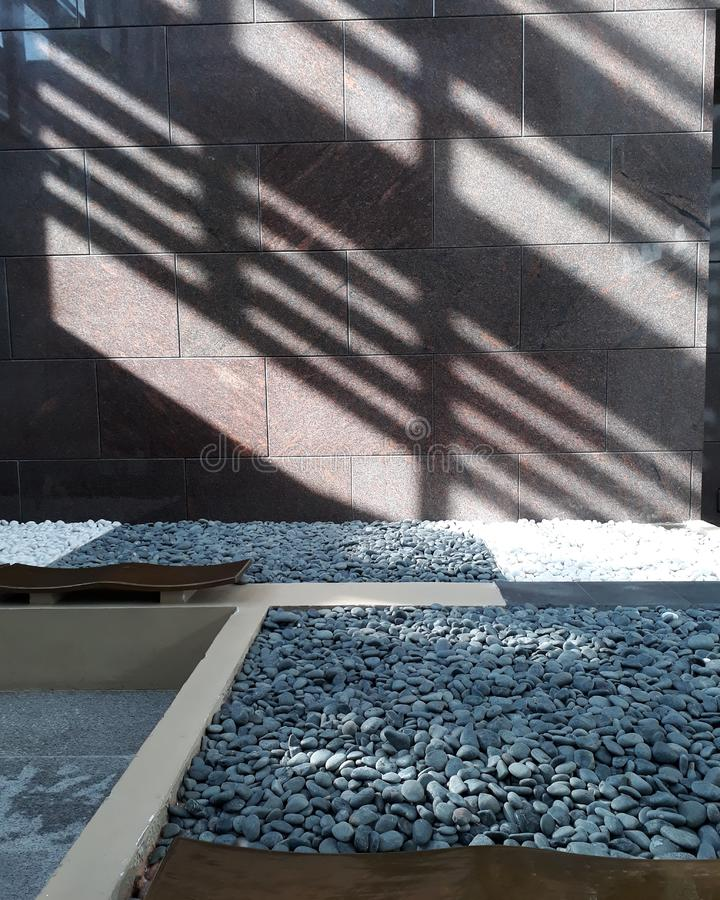 La sombra imagenes de archivo