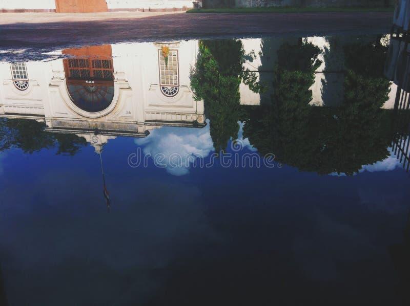 La sombra del edificio foto de archivo libre de regalías