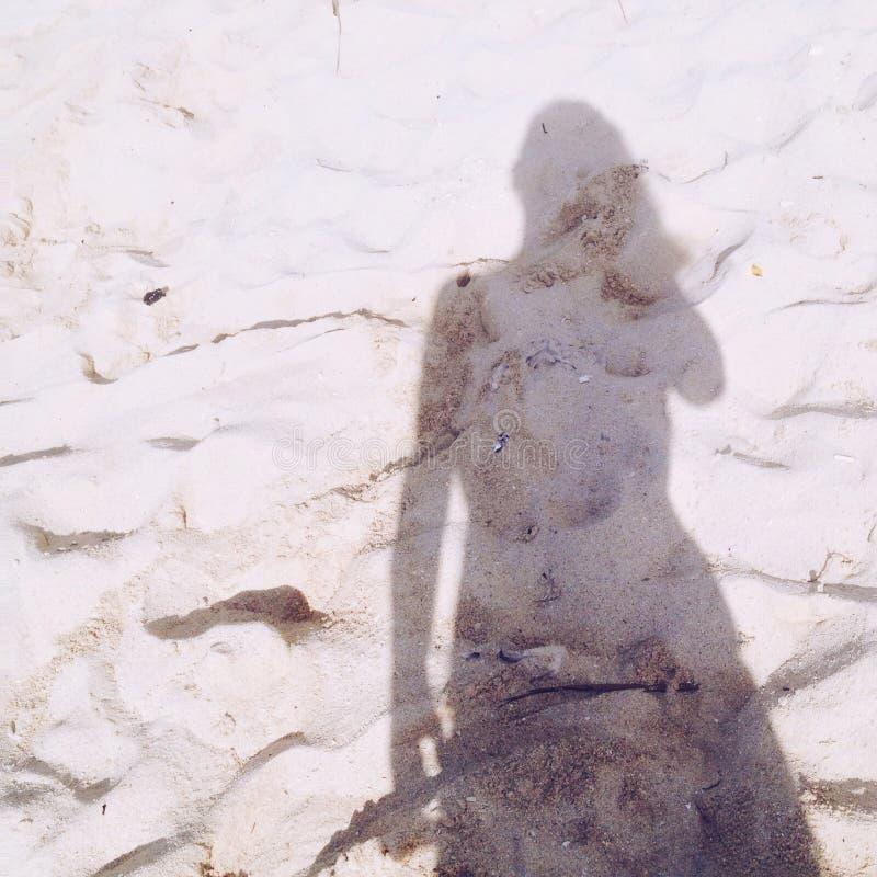 La sombra, no hace imágenes de archivo libres de regalías
