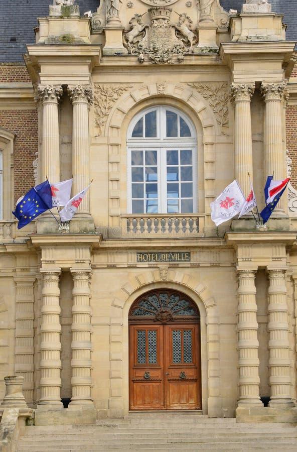La Somme, la ville pittoresque d'Amiens photographie stock libre de droits