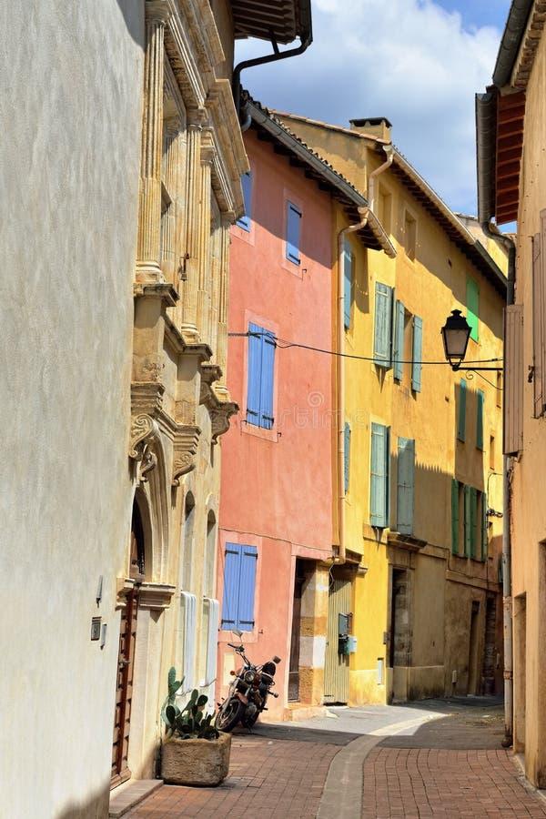 La Sorgue, Provence, Francia del sur de L'isle fotos de archivo libres de regalías