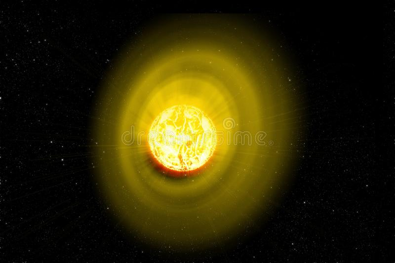 la source d'énergie principale sur terre vents solaires illustration de vecteur