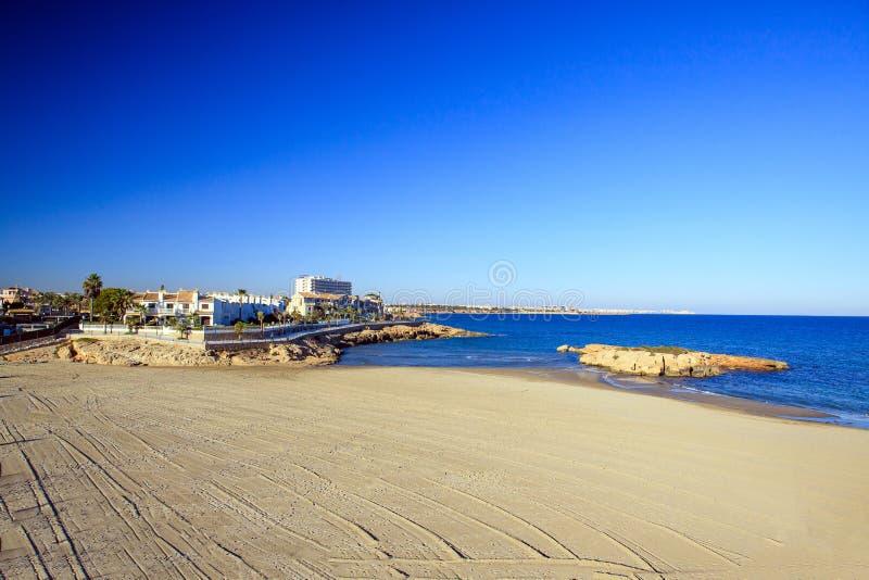 La Spagna, mar Mediterraneo fotografie stock libere da diritti