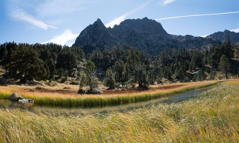 La Spagna Pirenei immagini stock libere da diritti