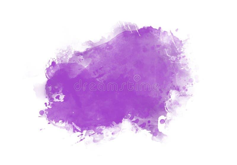 La spazzola di colore della grafica a colori dell'acqua delle toppe segna le toppe fotografie stock