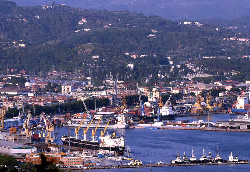 Download La spezia stock photo. Image of ship, seaport, liguria - 7285410