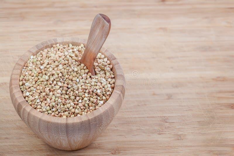 La spezia del grano saraceno fotografia stock libera da diritti