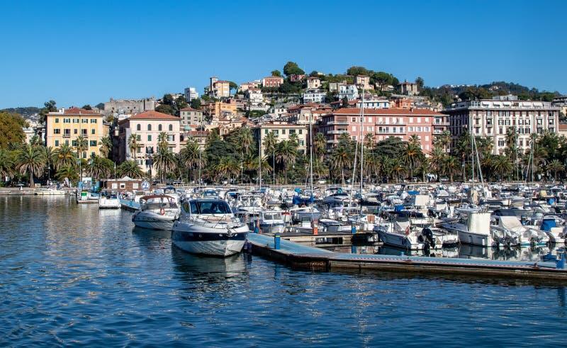 La Spezia in der Ligurien-Region von Nord-Italien stockfoto