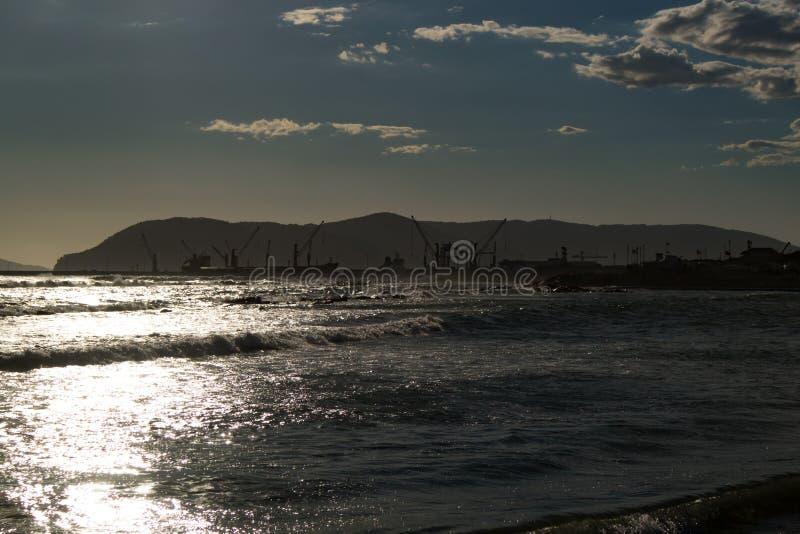 La Spezia harbour royalty free stock image