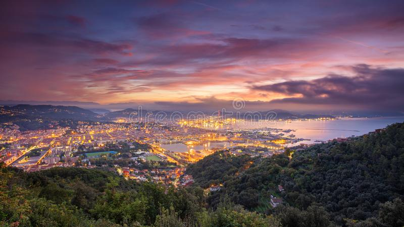 La Spezia, Italy. royalty free stock photography