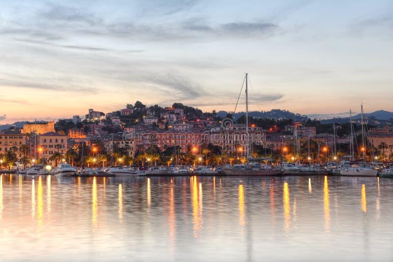 La Spezia port, Cinque Terre, Italy stock photos