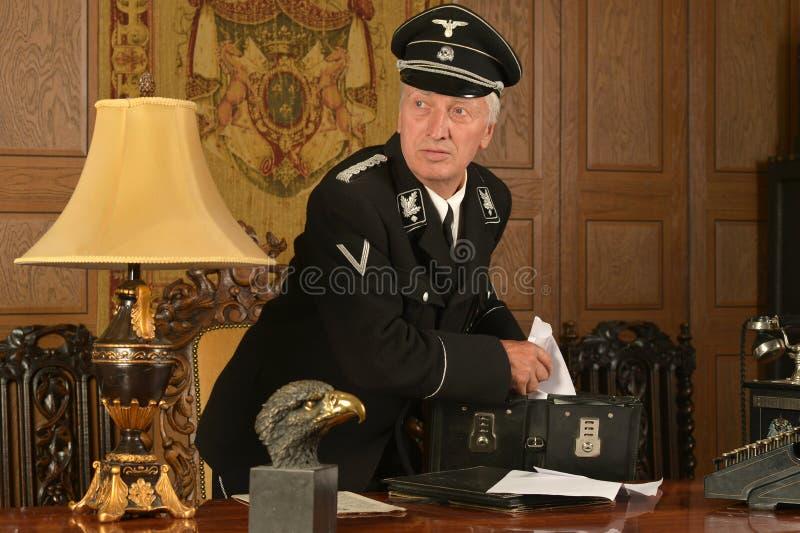 La spia tedesca ruba fotografie stock libere da diritti