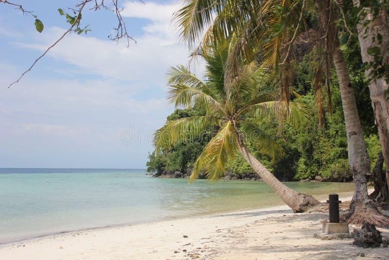 La spiaggia è bella immagine stock